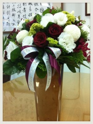Stainless Steel Flower Vase-YJ-F102A-YJ stainless