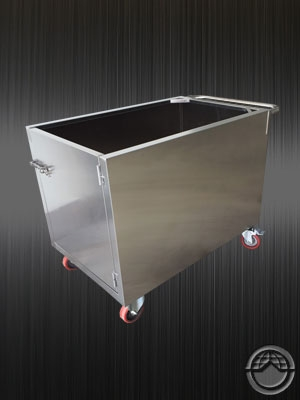 Customized stainless trolley TJ-150736  -YJ stainless