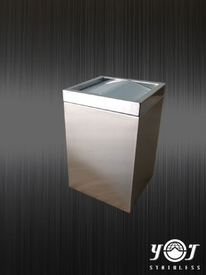 Stainless steel trash can-YJ stainless