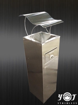 Stainless Steel ash bucket can- YJ stainless