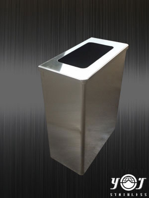 Stainless steel trash can-TJ-130115-YJ stainless