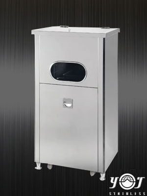 Stainless steel trash can TJ-070831  -YJ stainless