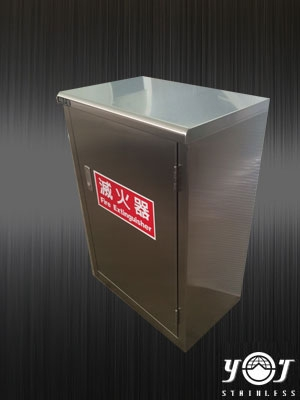 Stainless steel fire extinguisher box-TJ-150740-YJ stainless