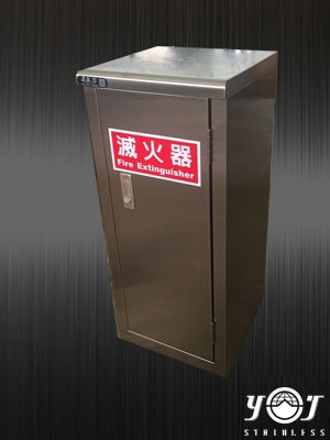 Stainless steel fire extinguisher box-TJ-150739-YJ stainless