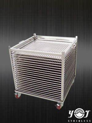 Stainless steel shelving-YJ stainless