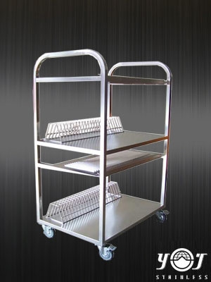Stainless steel cart TJ-110802