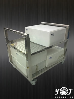 Stainless steel cart TJ-130429  - YJ stainless