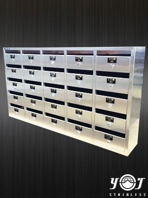Customized stainless steel mailbox  TJ-140738-YJ stainless