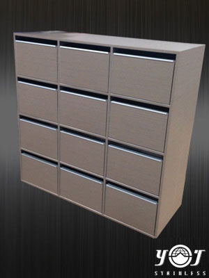 Stainless steel mail box TJ-141028-YJ stainless