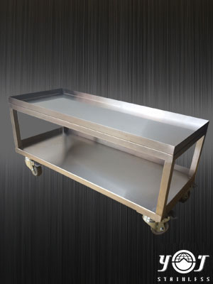 Stainless steel work carts TJ-150520 - YJ stainless
