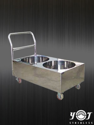 Stainless steel cart TJ-110708 - YJ stainless