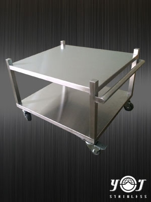stainless trolley TJ-151022-YJ stainless