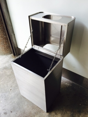 Trash Can Series-TTJ-10-YJ stainless