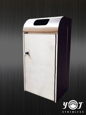 Stainless steel  Trash Can  TTJ-16