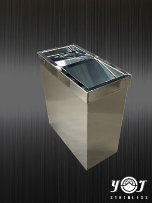 stainless steel trash can TJ-140416