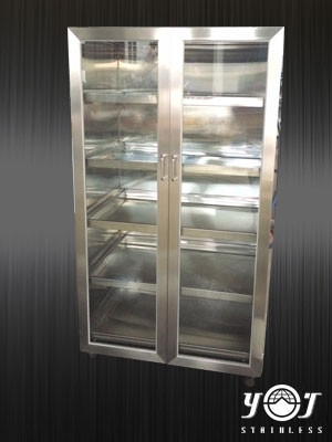 Stainless steel glove box TJ-150329