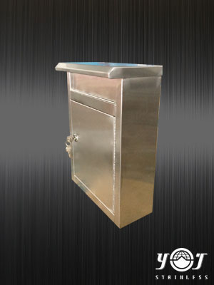 Stainless steel mailbox TJ-150420 - YJ stainless