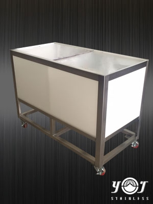 stainless trolley TJ-151039 - YJ stainless