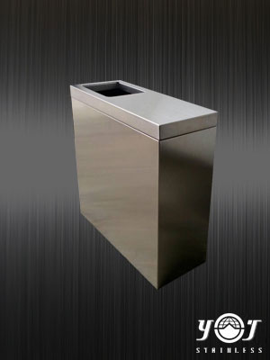 Stainless steel trash can TJ-131164 - YJ stainless