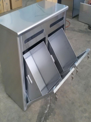 Stainless steel trash TJ-151138 - YJ stainless