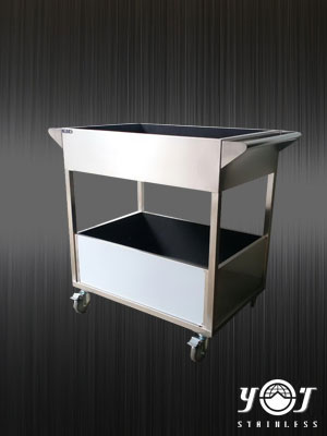 stainless trolley TJ-151129 - YJ stainless