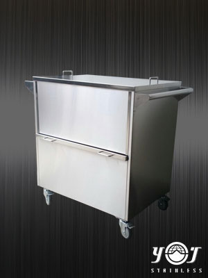 stainless trolley TJ-151132 - YJ stainless