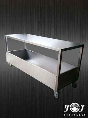 stainless trolley TJ-151136 - YJ stainless
