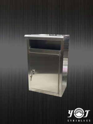 Stainless steel mailbox TJ-160209 -YJ stainless