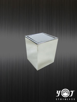 Customized stainless steel trash can TJ-160312-YJ stainless