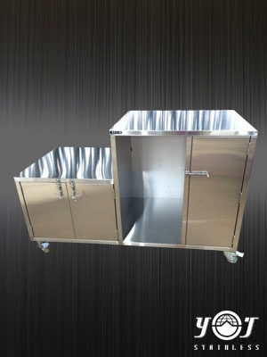 Stainless steel glove box TJ-151106 - YJ stainless