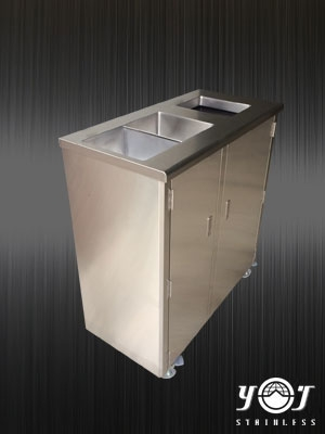Trash Can Series-TJ-160330-YJ stainless