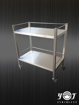 Stainless steel trolleys-TJ-160451-YJ stainless