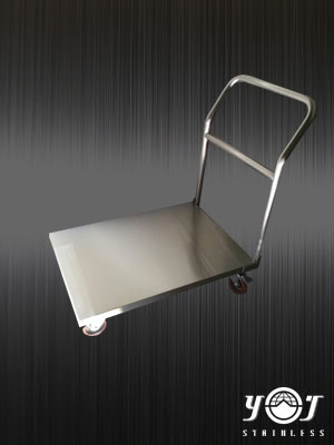 Stainless steel trolleys-TJ-160439-YJ stainless
