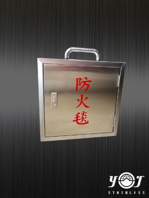 Stainless steel fire blanket box-TJ-160512-YJ stainless