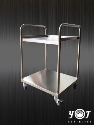 Stainless steel cart - TJ-160535 -YJ stainless