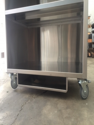 Stainless steel carts try to eat- TJ-160562 -YJ stainless