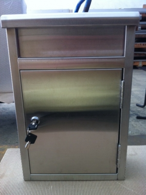 Stainless steel mailbox  - TJ-130982 -YJ stainless