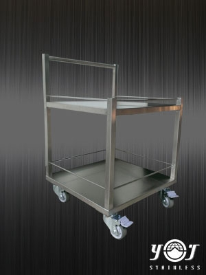 Stainless steel work table carts - TJ-160705 -YJ stainless