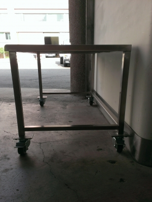 Stainless steel work table - TJ-160719 -YJ stainless