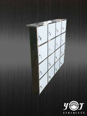 Stainless steel mailbox - TJ-150330 -YJ stainless