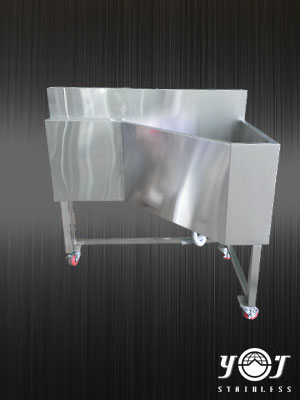 Stainless steel sink - TJ-160743 -YJ stainless