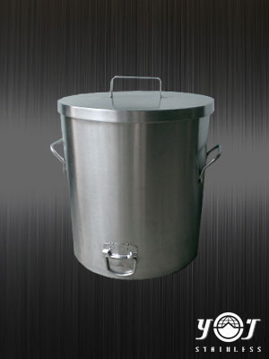Stainless steel covered drums - TJ-160802 -YJ stainless