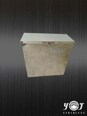 Stainless steel collection box- TJ-161008 - YJ Stainless