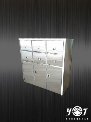 Stainless steel tool cabinet - TJ-160956 -YJ stainless