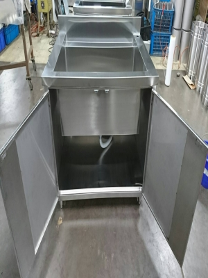Stainless steel sink table - TJ-161106 -YJ stainless