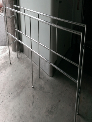 Stainless steel cleaning rack - TJ-160839 - YJ stainless