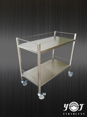 Stainless steel trolley - TJ-161138 - YJ stainless