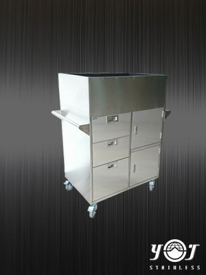 Stainless steel tool cart - TJ-161171 - YJ stainless