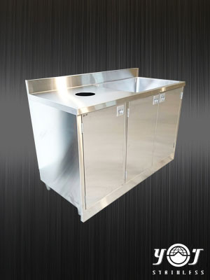 Stainless steel sink - TJ-161272 - YJ stainless