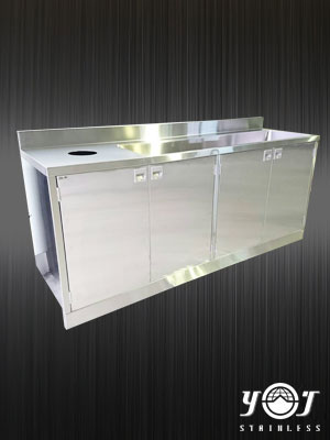 Stainless steel sink - TJ-161273 - YJ stainless